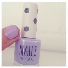 'Parma Violet' Nail Polish - Topshop