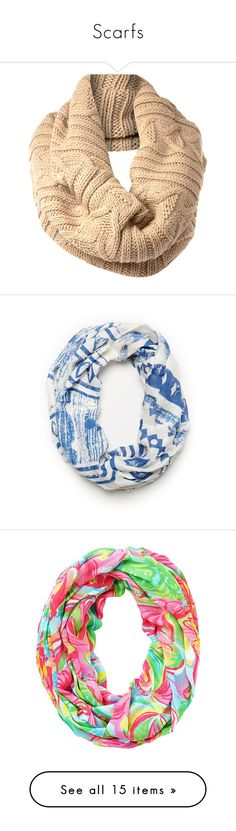 """""""Scarfs"""" by xomadibbyyy ❤ liked on Polyvore featuring accessories, scarves, bufandas, accessories - scarves, women, cable knit shawl, stefanel, cable knit scarves, blue and blue shawl"""