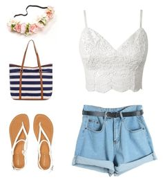 """""""Summer"""" by junkiastros on Polyvore featuring moda, Chicnova Fashion, Aéropostale, Accessorize, women's clothing, women, female, woman, misses e juniors"""