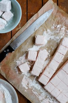Strawberry & White Chocolate Marshmallows - Patisserie Makes Perfect