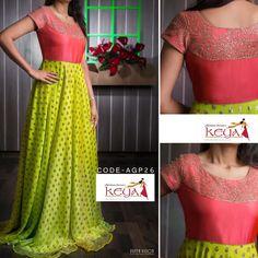 Long Skirt Top Designs, Long Dress Design, Designer Anarkali Dresses, Designer Dresses, Half Saree Designs, Fancy Blouse Designs, Party Wear Maxi Dresses, Indian Long Frocks, Frock Models