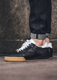 Packer Shoes x Reebok Phase 1 Pro  Black White Gum  available now by  titoloshop 7d70a84ee