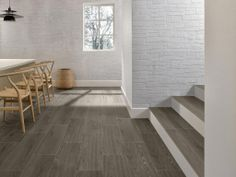 'Nature Side' by Villeroy Boch. Porcelain tiles made to look like wood.