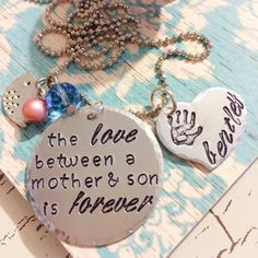 Perfect gift for Mom. What says I love you more than jewelry? The love between a Mother and her child is unconditional and what Mom wouldnt