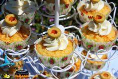 ó carón da Lareira: Cupcakes de jamón y queso