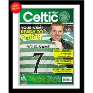 Personalised Celtic Magazine Front Cover from Personalised Gifts Shop - ONLY Personalized Football, Personalized Gifts, Gifts For Boys, Fathers Day Gifts, Fraser Forster, Magazine Front Cover, John Clark, Gifts For Football Fans, Celtic Fc