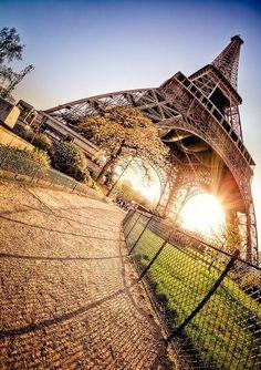 Eiffel is a beautiful lady