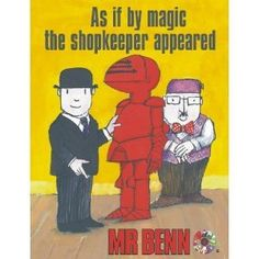AS IF BY MAGIC THE SHOPKEEPER APPEARED
