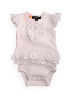 Pumpkin Patch - bodysuits - frilly woven bodysuit - S1BG15008 - red - newborn to 12-18mths