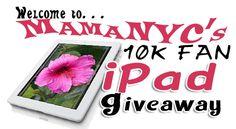 iPad 3 Giveaway – 10K Fan Celebration!