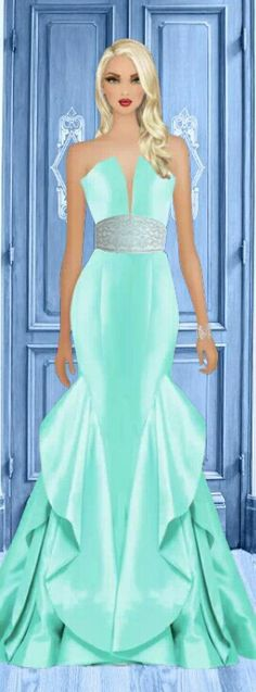 "Covet Fashion Game ""Forbidden Room"" Challenge ♕ DiamondB! Styled & Pinned ♕"