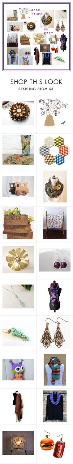 """Good Times on Etsy"" by penandhook ❤ liked on Polyvore"