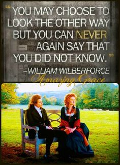 Amazing Grace is one of my favorite Christian-esque movies in the world. It's both brutal and beautiful and I adore what they did with the character of William Wilberforce.
