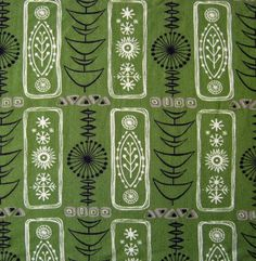 Image of 1950s Atomic Grafton Fabric