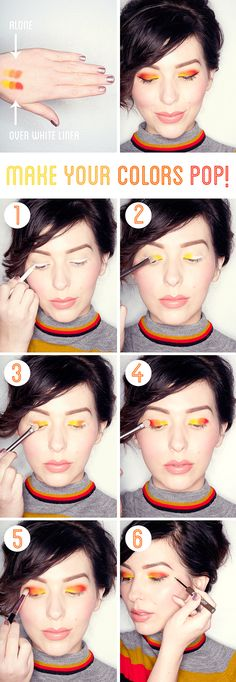 Makeup Monday: Make Your Colors Pop!