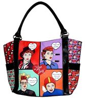 Lucy Comic Tote Bag