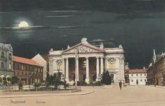 Romania, Nagyvárad, Oradea Mare, Großwardein - Oradea in trecut Historical Architecture, Romania, Louvre, Mansions, House Styles, Building, Travel, Painting, Viajes
