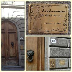 La Locandiera - Entrance http://www.la-locandiera.com/camere.html