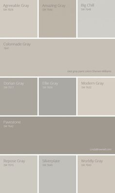 11 Most Amazing Best Gray Paint Colors Sherwin Williams Greige Color Griege
