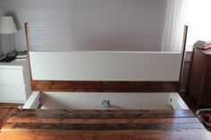 How to transform an Ikea Malm bed