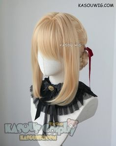 Mcoser Cosplay Chobits-chii Womens Anime 130cm Long Beige Straight Lolita Party Synthetic Hair Full Wig Volume Large Synthetic Wigs