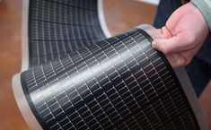 Flexible solar cell sheets can go anywhere and collect 95% of available solar energy!