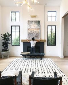 Behind the scenes at our latest installation. We can't help but share some p. - Decoration Fireplace Garden art ideas Home accessories Lounge Design, Design Room, Interior Design, Room Interior, Interior Colors, Interior Livingroom, Interior Modern, Apartment Interior, Luxury Interior