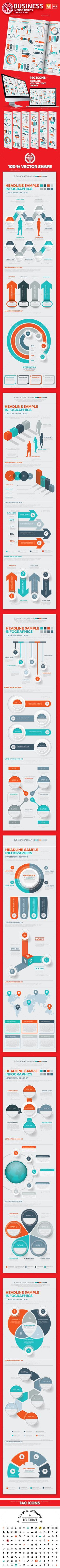 Infographics Design Template Vector EPS, AI Illustrator
