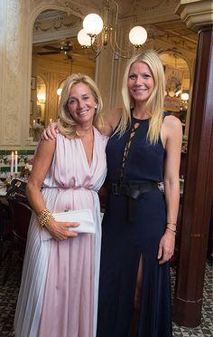 GP and goop CEO, Lisa Gersh at the Paris City Guide Dinner.