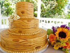 The Best and Special Rustic Wedding Cake - http://femeiasimpla.com/the-best-and-special-rustic-wedding-cake/