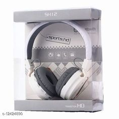 Wired Headphones & Earphones Editrix Sh12 Wireless Bluetooth Headset (White) Product Name: Editrix Sh12 Wireless Bluetooth Headset (White) Brand Name: Editrix Material: Plastic Product Type: Foldable over the head Type: Over The Ear Compatibility: All Smartphones Multipack: 1 Color: White Mic: Yes Bluetooth Version: 4.1 Warranty_Period: 1 Month Brand Warranty Warranty_Type: Carry In Operating Voltage: 10 Volts Charging Type: Micro USB Battery Charge Time: 1 Hour Battery Backup: 6 Hours Frequency: 10 Hz Control Button: Yes Play Time: 10 Hours Dynamic Driver: 30 mm Transmission Distance: 10 Mtr Noise Cancelling: No Service Type: Repair or Replacement Sports Earphones: Yes Sweat Proof: Yes Water Resistant: No Sizes:  Free Size Country of Origin: India Sizes Available: Free Size   Catalog Rating: ★4 (3207)  Catalog Name: Editrix Bluetooth Headphones & Earphones CatalogID_2392796 C97-SC1375 Code: 894-12424890-0411