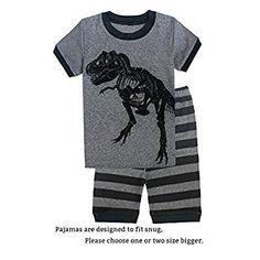 Pajama Outfits, Kids Outfits, Cotton Pjs, Kids Clothes Boys, Christmas Pajamas, Boy Shorts, Pajama Set, Baby Boys, Kid Stuff