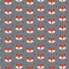sleepy fox vos kimsa tricot grey grijs