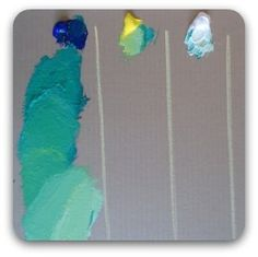 painting gradations of color in acrylics and how to make them smooth.