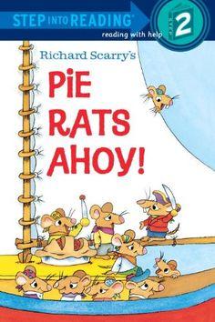 Richard Scarry's Pie Rats Ahoy! (Step-Into-Reading, Step 2) by Richard Scarry http://www.amazon.com/dp/067984760X/ref=cm_sw_r_pi_dp_b4Paub1AJQQ7A  ----3.64
