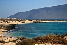 Playa Francesa - La Graciosa: una playa de incomparable fascino y belleza