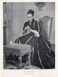 1948 - Balenciaga Evening Gown