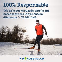 100% Responsable #7mindsets #100%responsable