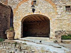 Los pequeños detalles: Castillo de Montfalcó Murallat