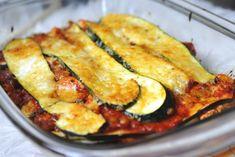 Gezonde groentenlasagna