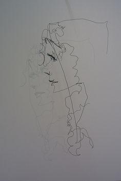 wire art - hood lady 7 by Wire Art - Ralf Westerhof, via Flickr