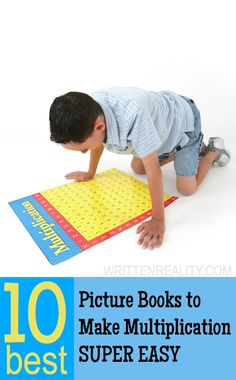 AWESOME Picture Books for teaching your kids Multiplication Facts! {writtenreality.com}
