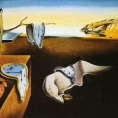 "Salvador Dali's painting ""The Persistence of Memory"" Salvador Dali was a surrealist painter and sculptor. He was born on may 11, 1904."