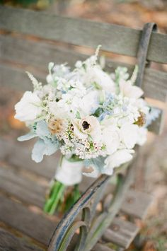 Charleston Wedding from Landon Jacob Productions Plan My Wedding, Dream Wedding, Wedding Day, Floral Bouquets, Wedding Bouquets, Bouquet Flowers, Blue Flowers, Floral Wedding, Wedding Flowers