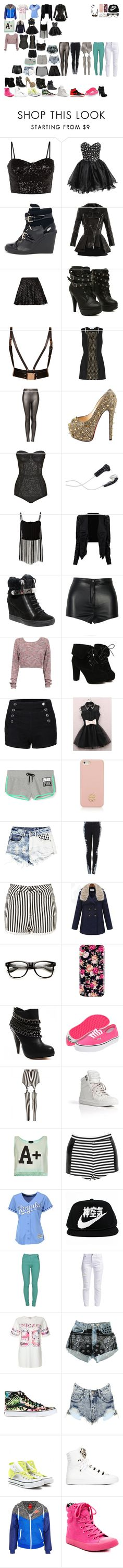 """Packing for the Academy"" by royalsinthedark ❤ liked on Polyvore featuring FairOnly, MICHAEL Michael Kors, Alexander McQueen, TFNC, Topshop, Pierre Balmain, Christian Louboutin, DEOS, AX Paris and Giuseppe Zanotti"