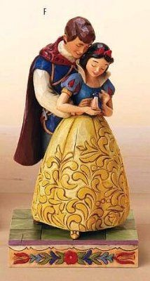 "*PRINCE FERDINAND & SNOW WHITE ~ ""Someday is today"" (Jim Shore) / I want this so badly!"