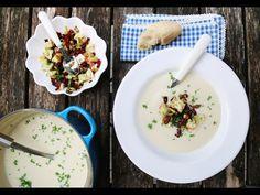 Blomkålsuppe med purre og sprøstekt bacon | Trines Mat