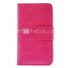 USD $ 4.99 - Wallet PU Leather Credit Card Holder Pouch Case for Samsung Galaxy S4 I9500