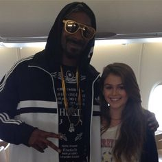 Avec Snoop Dogg
