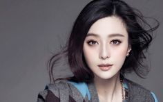 Fan Bingbing chinese beauty. Natural makeup and nice photoshooting